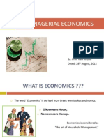 1. Introduction to Managerial Economics