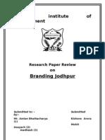Branding Jodhpur