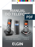Manual Telefone Elgin