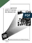 Vision General Sobre Manejo de Desastres