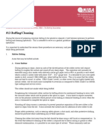 BuffingCleaning conveyor belts