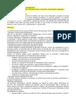 Resumo Direito Processual Do Trabalho MPT