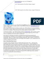 Global Economy Forecast 2009