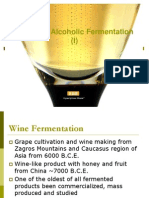 Wine and Alcoholic Fermentation