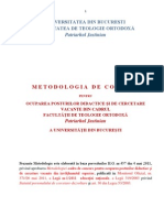 07 00-56-07Metodologia de Concurs a Facultatii de Teologie Ortodoxa Bucuresti