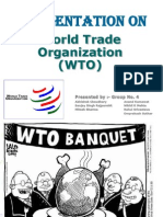 Presentation on WTO GROUP 4