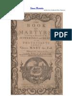 Istoria Martirilor, de John Foxe