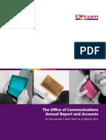 OFCOM Annual Report 2010-2011