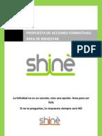 Catálogo acciones formativas Grupo Shinè Bienestar