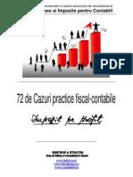 72 de Cazuri Practice Fiscal-contabile