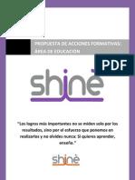 Catálogo acciones formativas Grupo Shinè Educación