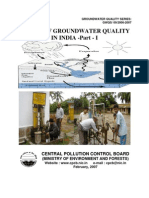 Status of Groundwater Quality in India-Part I
