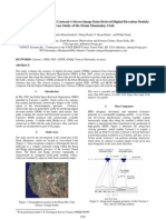 Accuracy Assessment of Cartosat-1 Stereo Image Data-Derived Digital Elevation Models