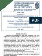 Informe de Posgrado y Desarrollo en a.l