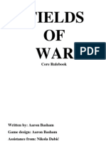 Fields of  War Core Rulebook