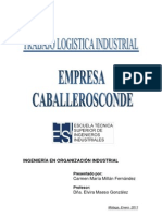 Trabajo de logística Millán Fernández Carmen María