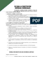 31905387 Requisitos Legales Para La Constitucion de Una Empresa
