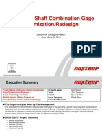 Design for Six Sigma Certification Presentation