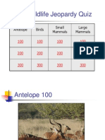 African Jeopardy ppt