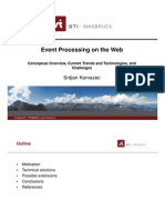 Event Processing on the Web