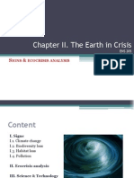 Chapter II -The Earth in Crisis