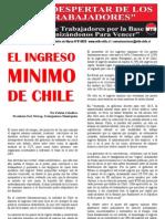 El Despertar de los Trabajadores - El Ingreso Mínimo de Chile