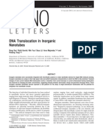 DNA Translocation in Inorganic Nanotubes