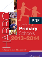 The Guide to Primary Schools 2013-14