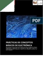 Prácticas de Conceptos Básicos de Electrónica