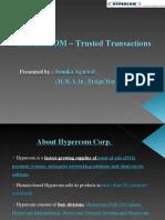 HYPERCOM – Trusted Transactions 2003