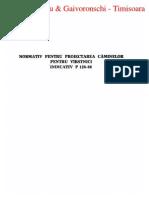 P 128 - 1986 Proiectarea Caminelor Pentru Varstnici