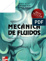 Mecánica fluidos Streeter  9 ed.