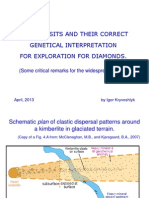 TILL DEPOSITS AND THEIR CORRECT STRUCTURAL INTERPRETATION FOR EXPLORATION FOR DIAMONDS.ppt