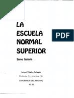 Breve Historia de La Normal Superior de n.l