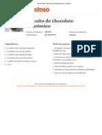 Biscoito de chocolate econômico