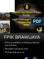 Fisheries and Marine Science Faculty