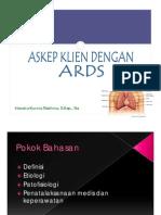 Asuhan Keperawatan Acute Respiratory Distress Syndrome (ARDS)