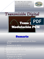 Tema 3 Modulacion Pcm