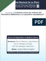 Perimetro Abdominal y Equil Metabolico 54