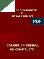 Cotarea in Desenul de Constructii