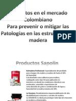 Productos Colombiano Para Prevencion Patologias en La Madera