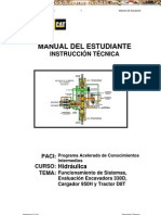 Manual Estudiante Hidraulica Excavadora 330d Cargador 950h Tractor d8t