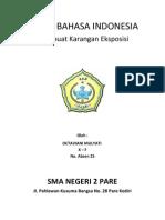 Tugas Bahasa Indonesia (Eksposisi)