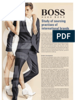 Sourcing Practices of Hugo Boss