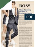 Sourcing Practices of Hugo Boss