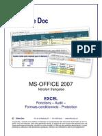 Excel 2007 FR Fonctions Audit Protection