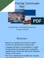 Central Florida Commuter Rail assessment