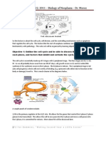 Biology of Neoplasm