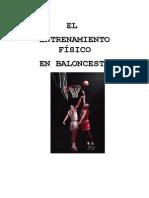 Baloncesto - El Entrenamiento Fisico en Baloncesto