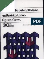 Agustin Cueva El Desarrollo Del Capitalismo en Americ Latina Capitulos 1 y 2